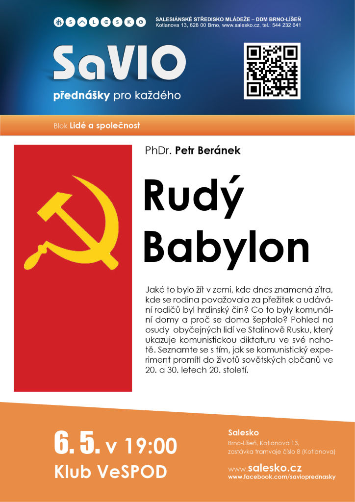 <a href='https://www.salesko.cz/savio-rudy-babylon-phdr-petr-beranek/' title='SaVIO – Rudý Babylon (PhDr. Petr Beránek)'>SaVIO – Rudý Babylon (PhDr. Petr Beránek)</a>